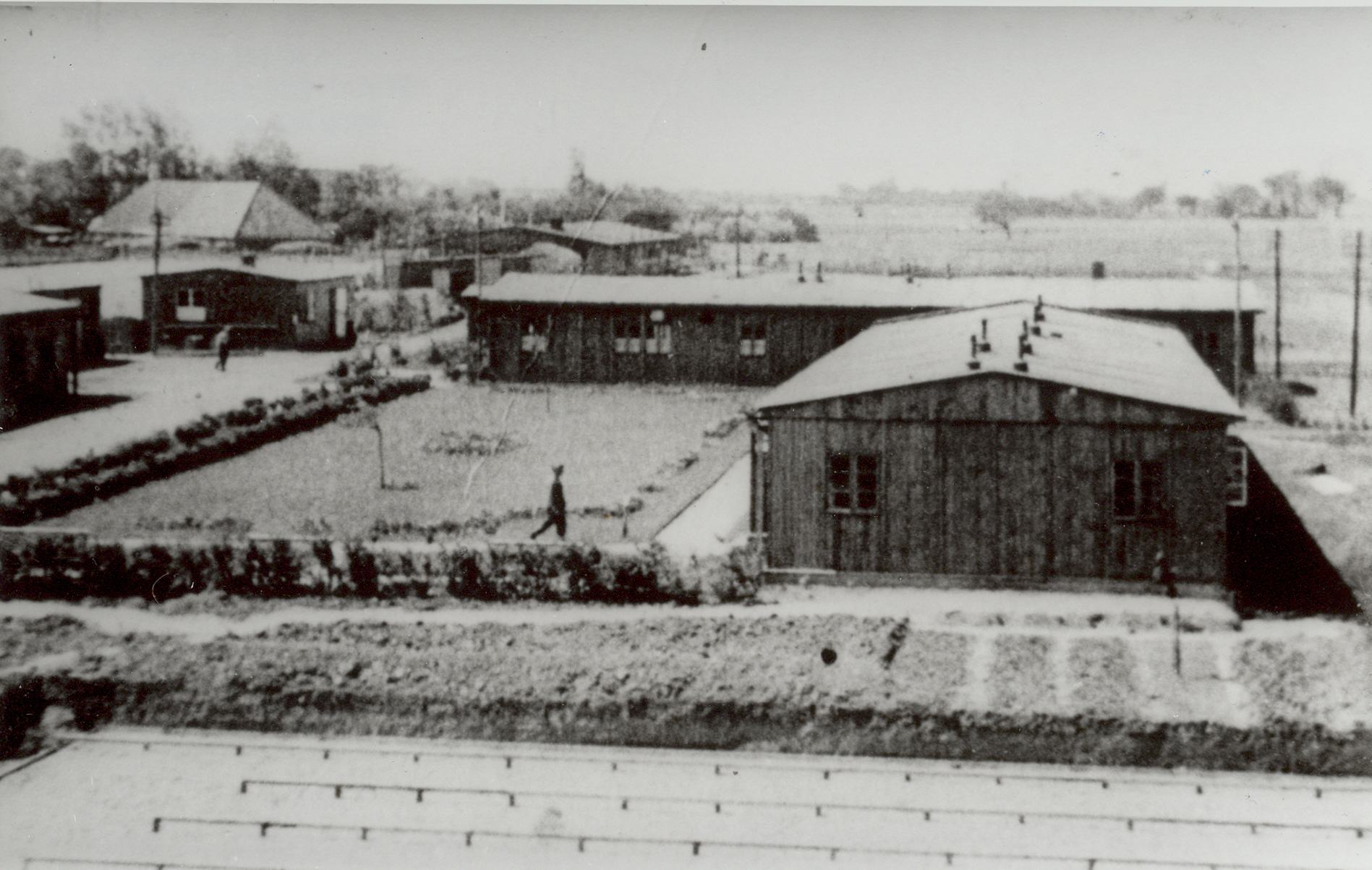 Batterie Nansum WWII -Militaire Barakken