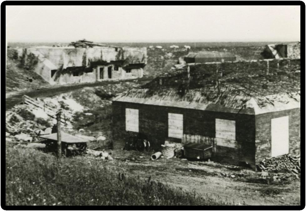 Bunkers van de Batterie Termunten