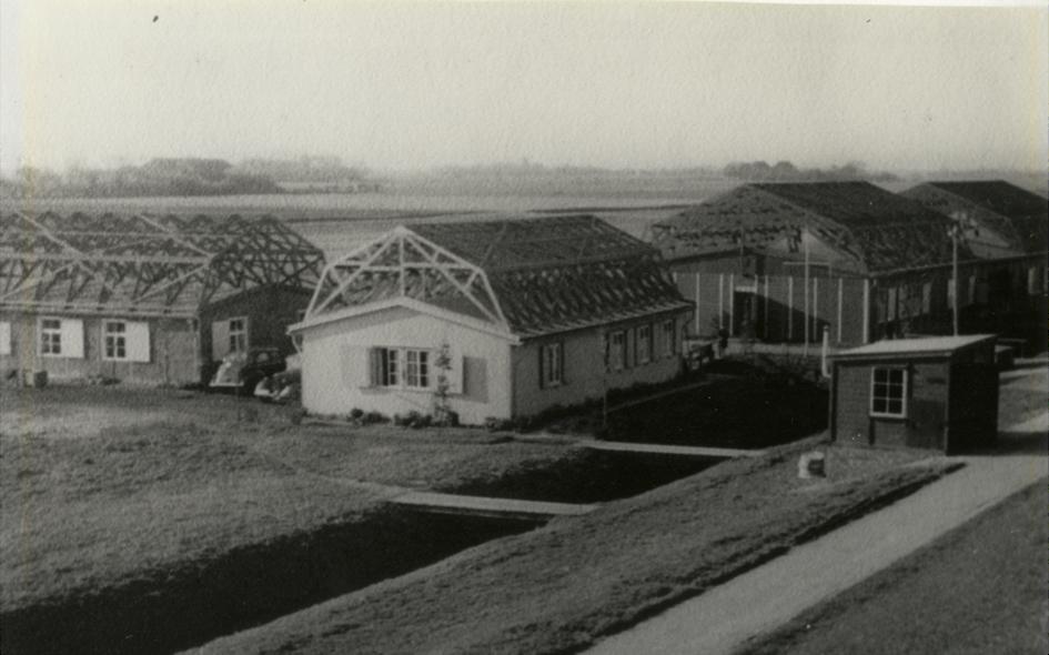"""De Duitse barakken van """"Batterie Delfzijl"""