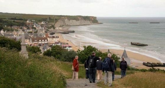 bevrijding normandië strand