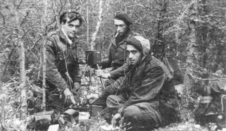 Franse radiopost in de staatsbossen van Gasselte.