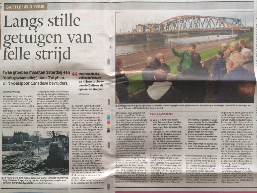 Stentor bevrijding Zutphen, 27 oktober 2014