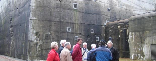 Rondleiding bij de 'Grossraumgefechtsstand' Bunker Diogenes